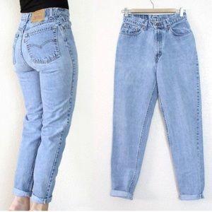 VINTAGE 90's levis 512 mom jeans